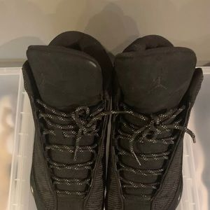 ddac9b2f5f8b Women s Jordan 13 Black Cat on Poshmark